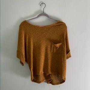 Boutique crop sweater